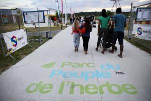 Aménagé sur 113 hectares en bords de Seine à Carrières-sous-Poissy, le Parc du Peuple de l'herbe est aujourd'hui le plus grand parc récréatif des Yvelines.